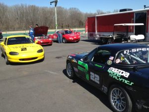 In the paddock for VIR's first race of the 2015 season!