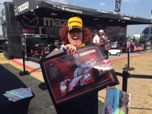 This Sebring first-timer came to the SKYACTIV Mazda autograph session.